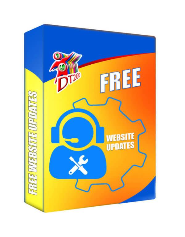 free website updates