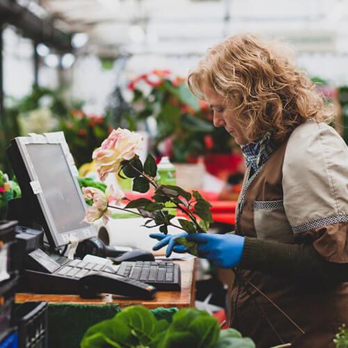 white women food florist